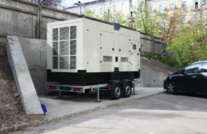 backup generator outdoors - valley power systems