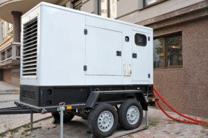 diesel powered generator