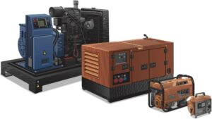 generator size in california for industrial power supplier